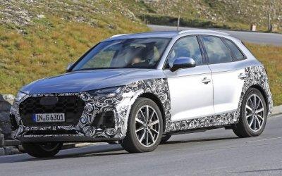 Кроссовер Audi Q5 прошёл рестайлинг