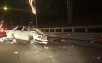 Молодой водитель погиб в ДТП в Сочи