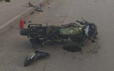 15-летняя пассажирка мотоцикла погибла в ДТП в Новосибирске