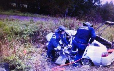 Три человека пострадали в ДТП на Серовском тракте