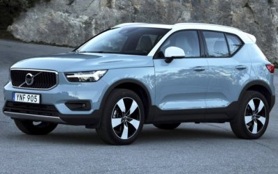 Электрокроссовер Volvo: завеса секретности слегка приоткрылась