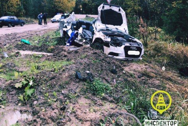 Два молодых человека погибли в ДТП в Тосненском районе Ленобласти