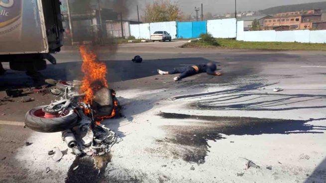 В Киселевске в ДТП погиб мотоциклист