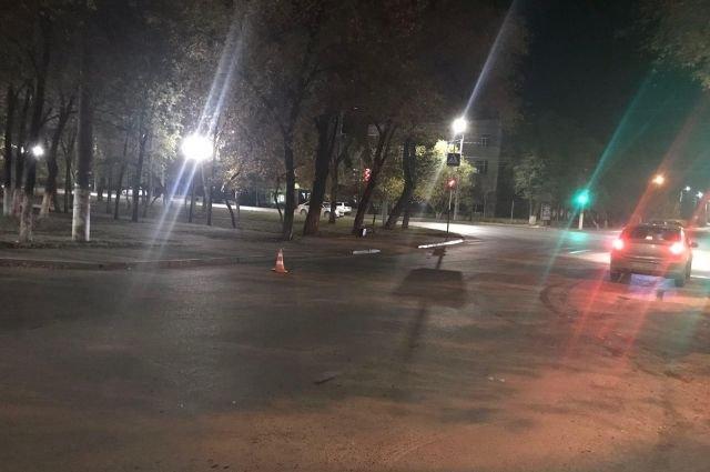 В Оренбурге водитель сбил пешехода и скрылся