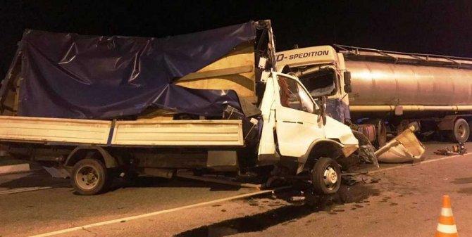 Водитель «Газели» погиб в ДТП на Кубани