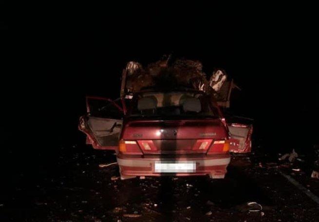 В Башкирии в ДТП с трактором погибла женщина (2)