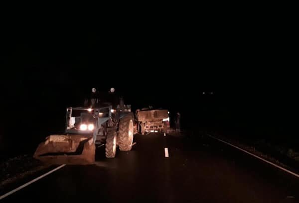 В Башкирии в ДТП с трактором погибла женщина (1)