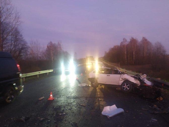 В ДТП с фурой в Тверской области погиб водитель ВАЗа (1)