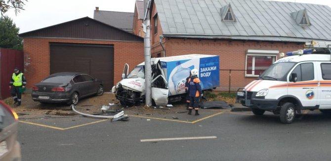 Водитель «Газели» погиб в ДТП в Новосибирске (1)