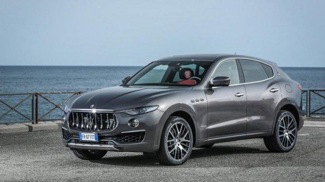 ВРоссии будут продавать новые Maserati Levante