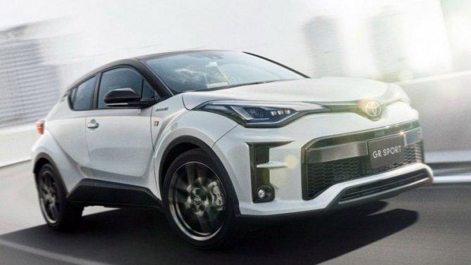 Toyota C-HR обзавелась «приспортивленной» версией