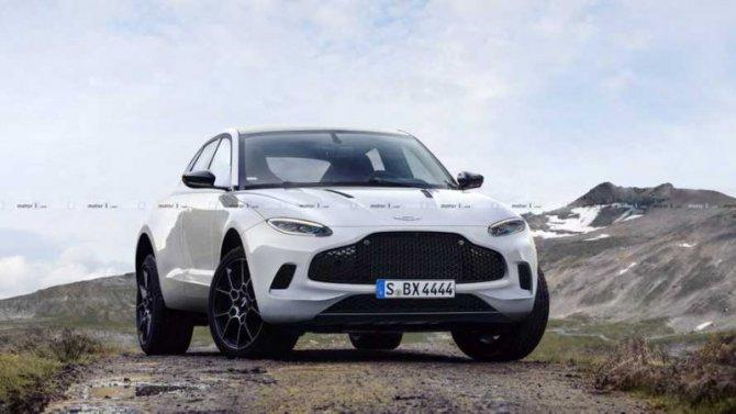 Aston Martin представил аксессуары для кроссовера DBX