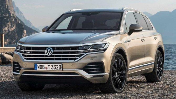 Volkswagen Touareg получит гибридную модификацию