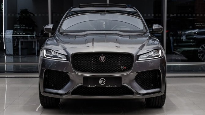 Самый совершенный внедорожник Jaguar — F-PACE SVR представлен в «АВИЛОН»