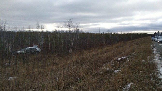 Водитель погиб в ДТП в Сургутском районе