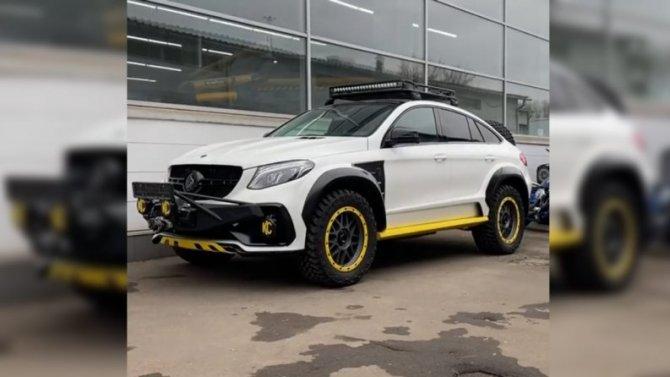 Российские тюнеры превратили Mercedes-Benz GLE вовнедорожник
