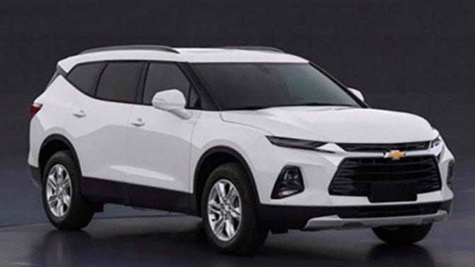 ВКитае начнут выпускать 7-местный Chevrolet Blazer