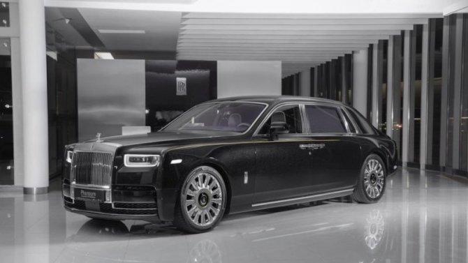 ВРоссию привезли уникальный Rolls-Royce