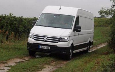 ВРоссии тестируются новые Volkswagen Crafter