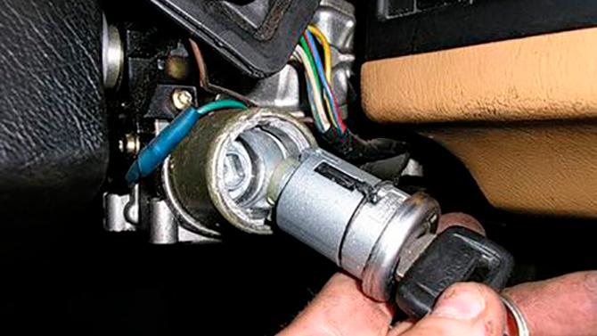 Ремонт замка зажигания автомобиля