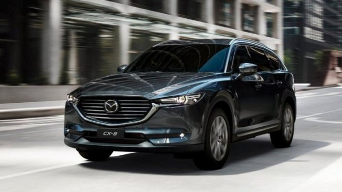 Токио-2019: представлена обновлённая Mazda CX-8