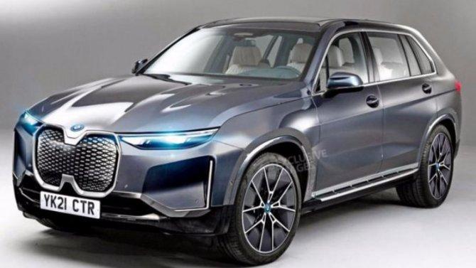 BMW iNEXT: появились новые подробности