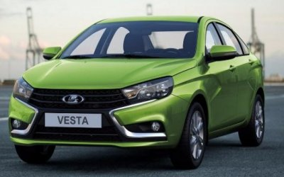 Lada Vesta свариатором: спрос неоправдывает ожиданий