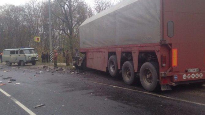 Водитель иномарки погиб в ДТП под Рязанью