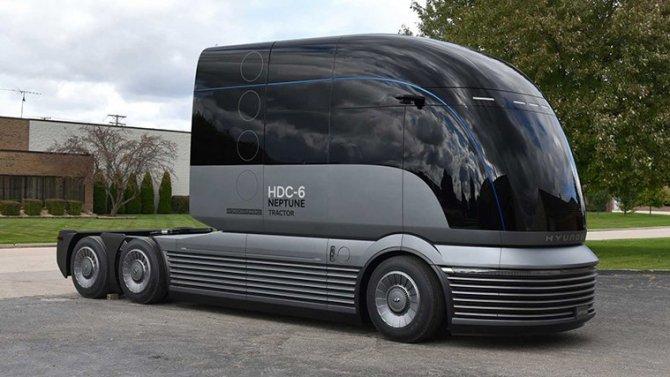 Концерн Hyundai представил проект водородного грузовика