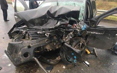 Четверо взрослых и двое детей пострадали в ДТП в Удмуртии
