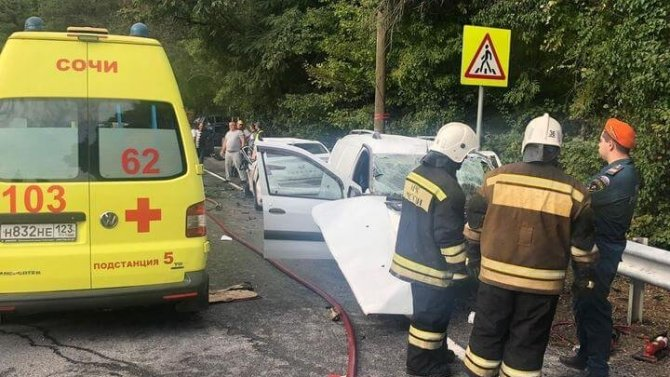 В ДТП в Сочи погиб человек