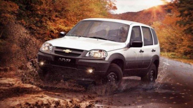 Подорожала Chevrolet-Niva