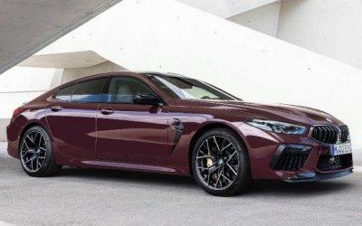 Представлен лифтбек BMW M8 Gran Coupe