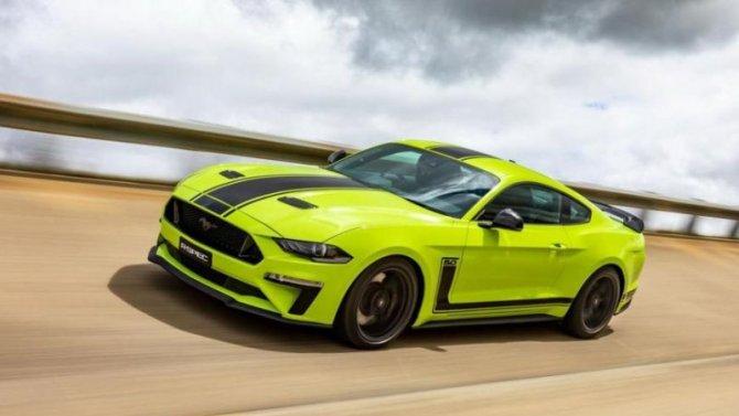 Ford Mustang: представлена самая мощная версия