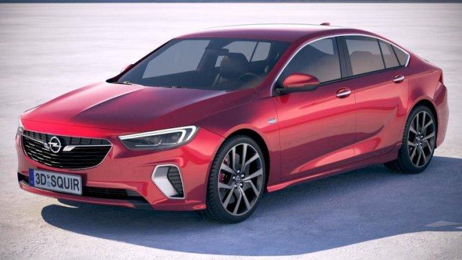 Стала известна внешность нового Opel Insignia