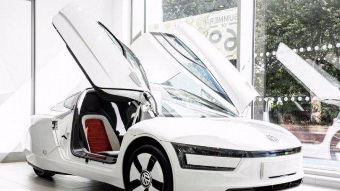Нааукцион выставлен самый экономичный Volkswagen