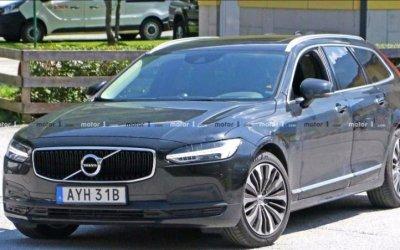 Обновлённый Volvo V90: без камуфляжа