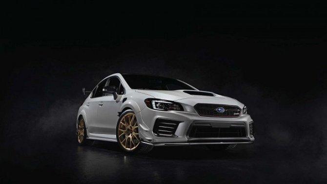 Новый Subaru STI получил лимитированную спецверсию