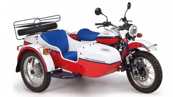 Выпущена новая спецсерия мотоциклов «Урал»