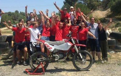 Испанские студенты сделали удачный электроцикл