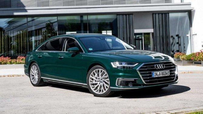 Представлен длиннобазный седан Audi A8 L
