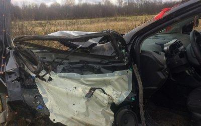 Водитель погиб в ДТП в Костромской области