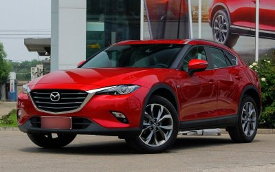 Появились официальные фото новой Mazda CX-4