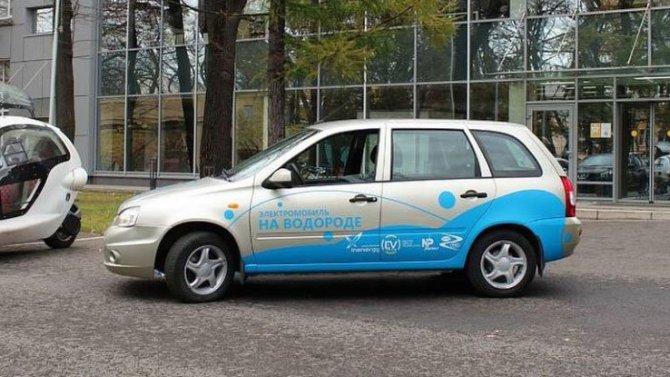 Электромобиль Lada Ellada перевели наводород