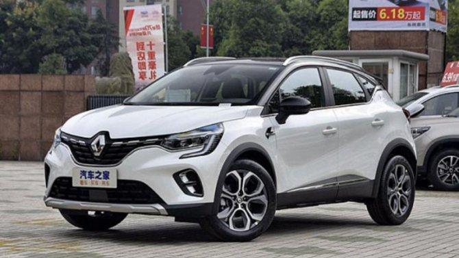 Новый Renault Captur поступил кдилерам марки