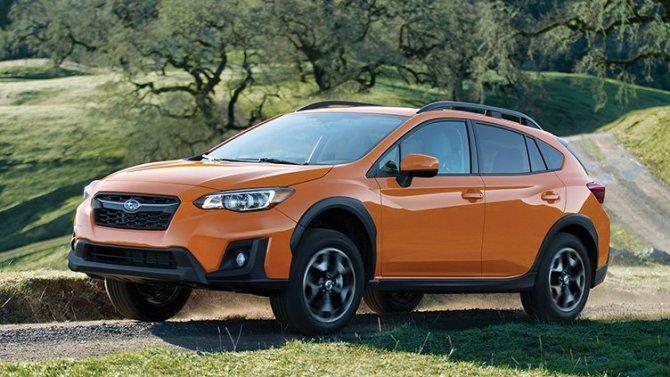 Представлен обновлённый Subaru Crosstrek