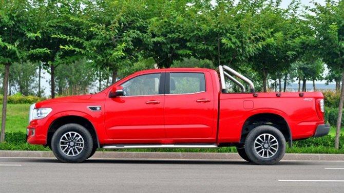 ВКитае сделан новый клон Toyota Tundra