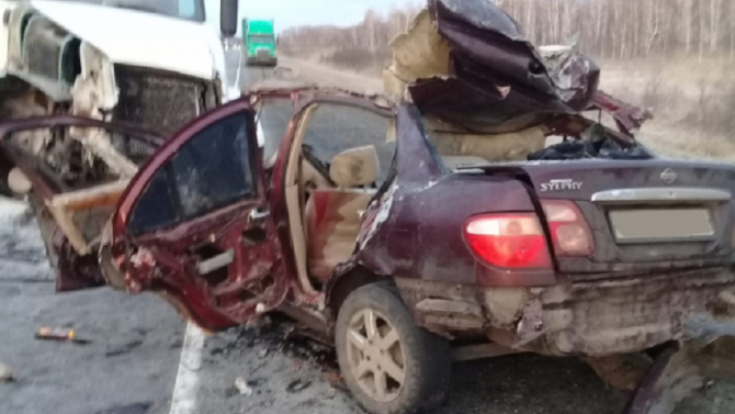 Три человека погибли в ДТП в Новосибирской области