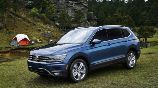 Volkswagen представил новую версию кроссовера Tiguan