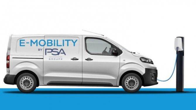 Альянс PSA электрифицирует все свои фургоны